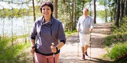 Aktivitaeten in und um das Hotel Nordic Walking