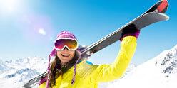 Aktivitaeten im und um das Hotel Skifahren