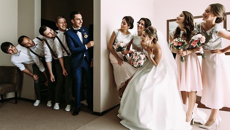 Die 3 beliebtesten Hochzeits-Programmpunkte